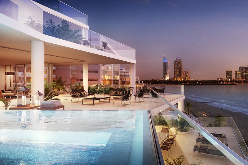 Viceroy residences palm jumeirah for Luxury hotels the palm dubai